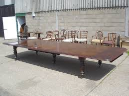 dining room tables that seat 16 antique furniture warehouse large georgian dining table 5 metres