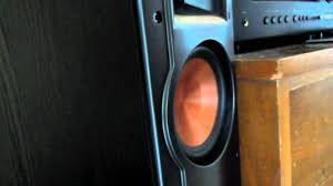 rf 42 ii home theater system klipsch rf 52 ii 2 0 youtube