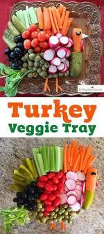 thanksgiving turkey veggie tray can t resist recipe