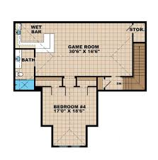 game room floor plans country style house plan 4 beds 4 5 baths 5082 sq ft plan 1017