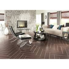 shop style selections serso black walnut glazed porcelain floor