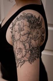 25 best flower tattoo shoulder ideas on pinterest flower