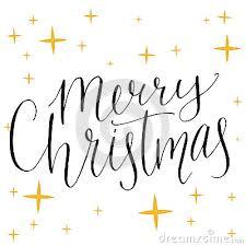 merry christmas modern christmas text modern calligraphy type made