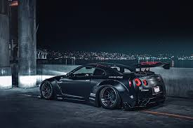 nissan japan photos nissan gt r r35 liberty japan sport black night automobile