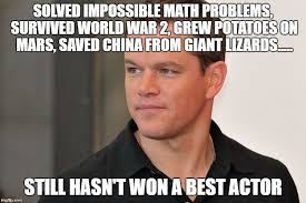 Funny Oscar Memes - matt damon oscars 2017 memes pinterest oscars 2017 and memes
