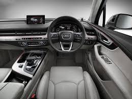 Audi Q7 2015 - 2016 audi q7 interior official pics 1 carblogindia
