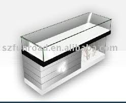 Display Cabinet With Lighting Wood Glass Countertop Jewellery Display Cabinet Showcase With Led