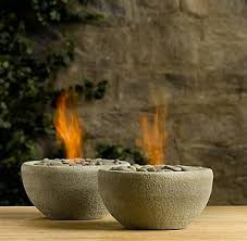 table gel fire bowls plastic bowl mold concrete mix rocks fire gel in a can pam