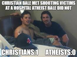 Christian Bale Meme - image tagged in batman christian bale unfunny funny hospital top 5