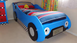 bed for kid diy kids racing car bed youtube