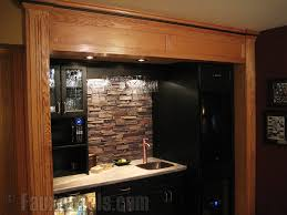 easy diy backsplashes in the kitchen creative faux panels