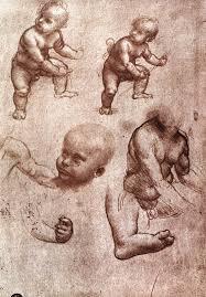 leonardo da vinci anatomical drawings child