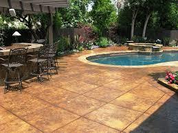 outdoor concrete patio designs ideas three dimensions lab