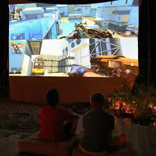 Media Room Tv Vs Projector - video game projectors projectors for gaming