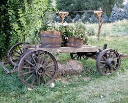 Rustic Garden Ideas 14 Rustic Garden Wagon Ideas For A Country Garden Garden Club
