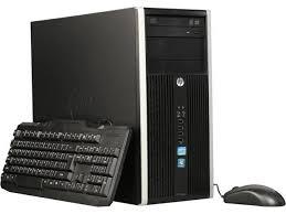 compaq pc bureau hp compaq desktop computer 6300 pro intel i5 3rd 3470 3 20