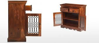 jali 3 door sheesham sideboard sheesham furniture furniture jali sheesham small sideboard quercus living