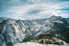 California Mountains images Snow capped mountains in yosemite national park california image jpg