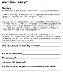 all worksheets bullying worksheets printable worksheets guide