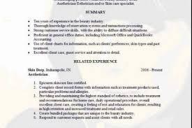 Esthetician Resume Sample by Esthetician Resume Samples Httpwwwdocstoccomdocs45811458texas