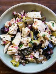 Mediterranean Vegan Kitchen - mediterranean chicken salad recipe simplyrecipes com
