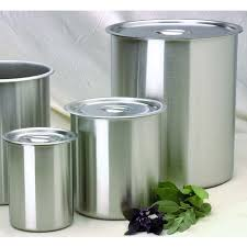 Metal Containers With Lids For Storage - stainless steel lids metal container covers polar ware
