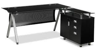 Office Desk Black Obi Desk Black S