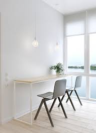 simple white table interior design ideas
