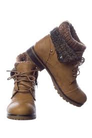 sweater lined foldover combat boots combat boots on the hunt
