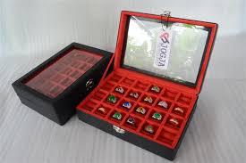 box cincin jual exclusive leather black ring box tempat cincin