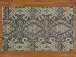 Plush Area Rug by Flooring Cool And Chic Ikat Rug Design For Your Living Space