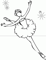 ballerina coloring pages printable coloring pages