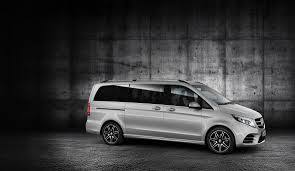 the mercedes benz v class amg line individual emotional u0026 sporty