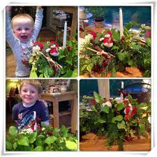Used Home Decor Christmas Candle Flower Arranging For Kids Our Little House In