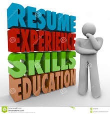 Job Resume Experience by Resume Experience Skills Education Thinker Applying Job Qualific
