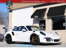 white porsche 911 2016 porsche 911 gt3 rs