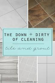 the and of cleaning tile and grout clean