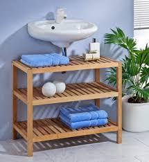 badezimmer waschbeckenunterschrank waschbeckenunterschrank regal badezimmer möbel und wohnen