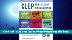 popular book clep principles of microeconomics book online