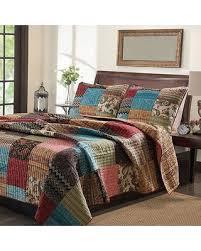 kohl s new bohemian cotton patchwork quilt set sham separates