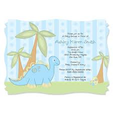 dinosaur baby shower baby boy dinosaur personalized baby shower invitations