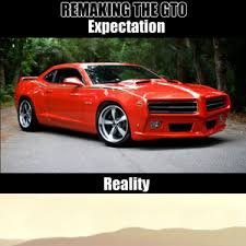 Muscle Car Memes - we thought we were gonna get an iconic muscle car reborn instead