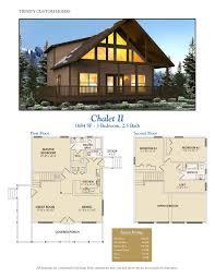 Chalet Floor Plans by Floor Plans Trinity Custom Homes Georgia