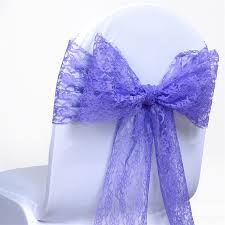 royal blue chair sashes royal blue lace chair sashes