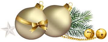 christmas balls with pine branch and star clipart gallery