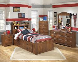 Ashley White Twin Bedroom Set Signature Design By Ashley Barchan Twin Bookcase Bed With Underbed