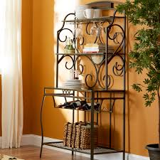 Bakers Rack Jackson Tn Bakers Rack Mainstays Outdoor Rack And Plant Stand Black Home