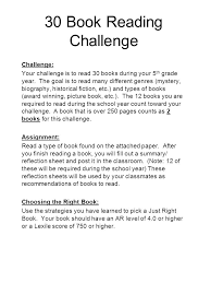 During Challenge 30 Book Reading Challenge Challenge Your Challenge Is To Read 30