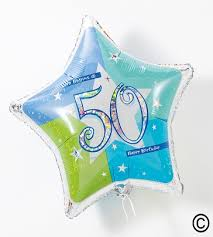 50th birthday flowers and balloons memento flowers gifts balloons 50th birthday balloon