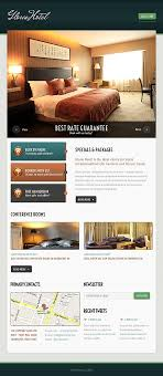 free templates for hotel brochures attractive relaxing hotel website templates entheos